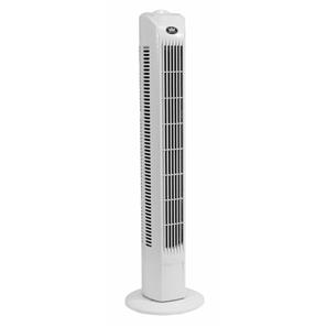 Tower Fan White Plastic