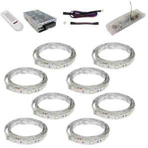 LED Tape 100 RGB Master Kit 24V 64W 8m