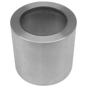 Smooth Long Hood Marine 316 Stainless Steel