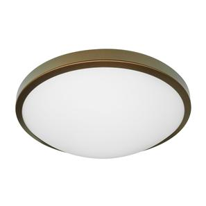 LED Slim Round Small 240V 3000K Bronze 10W