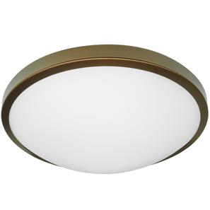 LED Slim Round Large 240V 3000K Bronze 15W