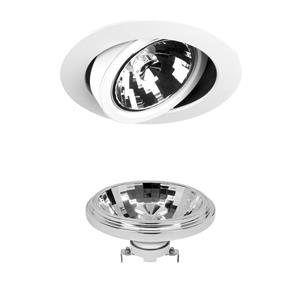 AR111 Reality LED & Driver 13W 950lm (=75W) Dimmable Warm White (2700K)   24° White