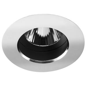 Fixed Downlight 240V 50W Chrome