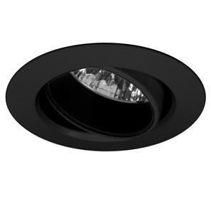 Adjustable Downlight 50 12V 50W Black Eggshell