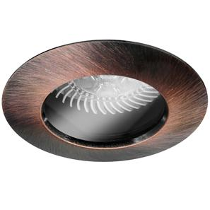 Fixed Downlight 50 IP54 Clear 12V 50W Bronze