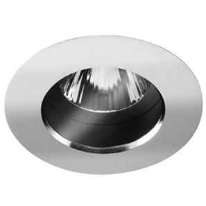 Fixed Downlight 50 IP54 Clear 12V 50W Chrome