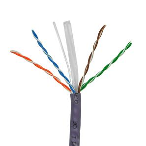 LAN CAT6 UTP Cable 1m Violet