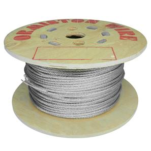 Bare Wire Cable 6mm Silver 100m