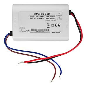Single Output Switching LED Driver (Constant Current) White 35W 350mA