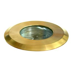 Battlestar Brass Uplight 45° 240V 3W Brass Blue