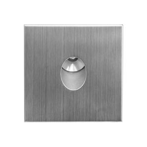 Tango Square 350mA Warm White Stainless Steel 1W