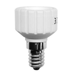 SES to GU10 Lamp Holder Adaptor  White