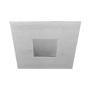 Adjustable Pinhole Square IP54 Frosted Glass 12V 50W Nickel