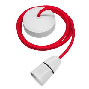 Dome Pendant Kit 2m Cable 100W Red / White