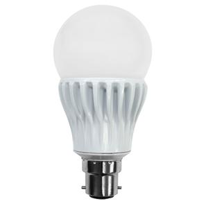 BC LED Dimmable 900lm (=75W) 240V 12W 3000K Warm White