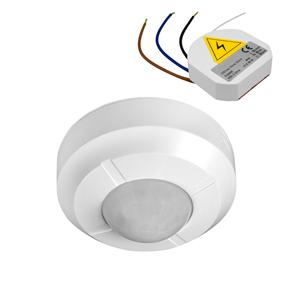 Wireless 360° PIR Surface Mounted Occupancy Switch 240V 2 Channel