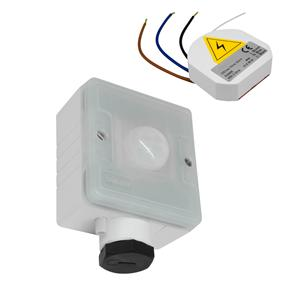 Wireless Compact Person Detector 240V 2 Channel