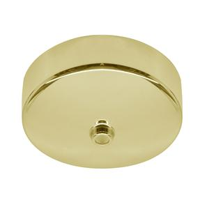 Dome Ceiling Rose Brass