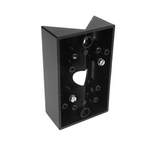 Lantern Wall Corner Bracket  Black