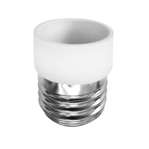 ES to SES Lamp Holder Adaptor  White