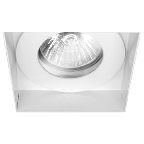 Trimless Square Fixed Clear Glass IP55 240V White 50W