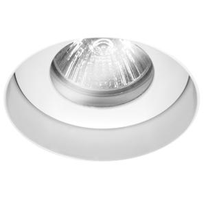 Trimless Round Fixed Clear Glass IP55 240V White 50W