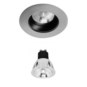 Elegant Fixed Clear IP54 Reality LED MR16 Warm White (3000K) 7W (=75W) 45°