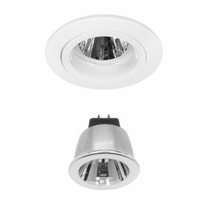 Contract 35 LED Warm White (2700K) 3.5W (=35W) White 35°
