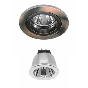 Contract 35 LED Warm White (2700K) 3.5W (=35W) Bronze 35°
