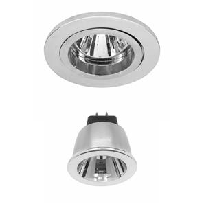 Contract 35 LED Warm White (2700K) 3.5W (=35W) Chrome 35°
