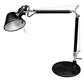 Tolomeo Micro Arm & Base Black 40W