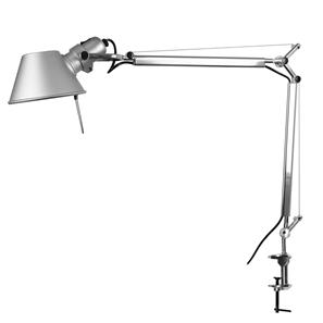 Tolomeo Mini Arm & Clamp Silver 100W