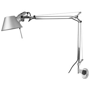 Tolomeo Mini Arm & Wall Bracket Silver 100W