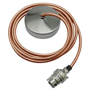 Dome Pendant Kit 2m Cable 100W Old Gold / Nickel
