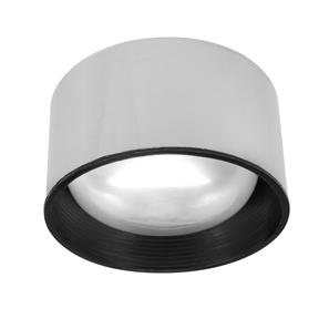 Semi Recessed 80 240V 100W Chrome