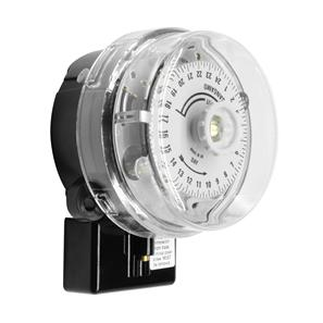 24 Hour and Solar Dial Time Switch Black 20A