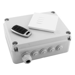 Wise Box Kit Version 3 includes Keypad & Key Fob 4 Channel, 5 Amps / Circuit