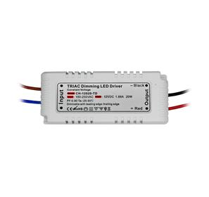 Triac LED Dimming Driver 20W 12V (Constant Voltage)