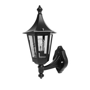 Lantern Wall Up 240V 60W Black