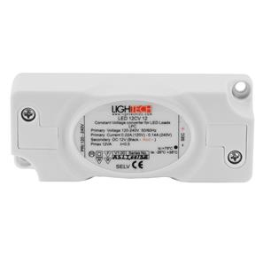 LED Driver (Constant Voltage) White 12W 12V Parallel