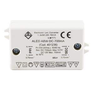 LED Driver (Constant Current) White 8W 700mA Parallel