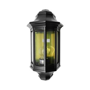 Small Lantern Wall 240V 60W Black