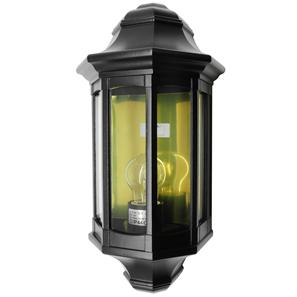 Lantern Wall Large 240V 60W Black