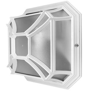 Lantern Wall Square 240V 60W White