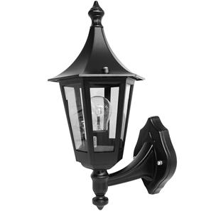 Lantern Wall Up Large 240V 100W Black
