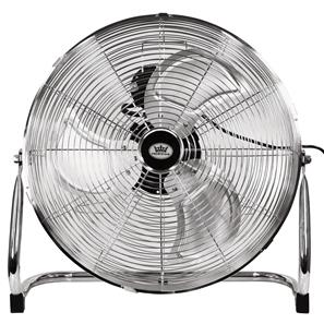 18 Air Circulator Floor Fan Chrome 18