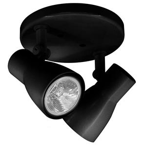 Big Nose Double Spotlight PAR20 240V 120W Black