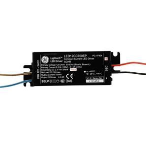 LED Driver (Constant Current) Black 12W 700mA Series