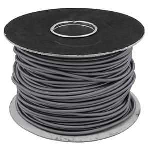 Braided Cloth Round Flex 3 Core 100M 0.75mm� Grey