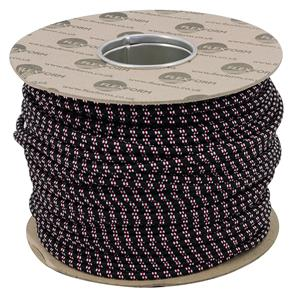 Braided Cloth Round Flex 3 Core 100M 0.75mm� Black / Red White